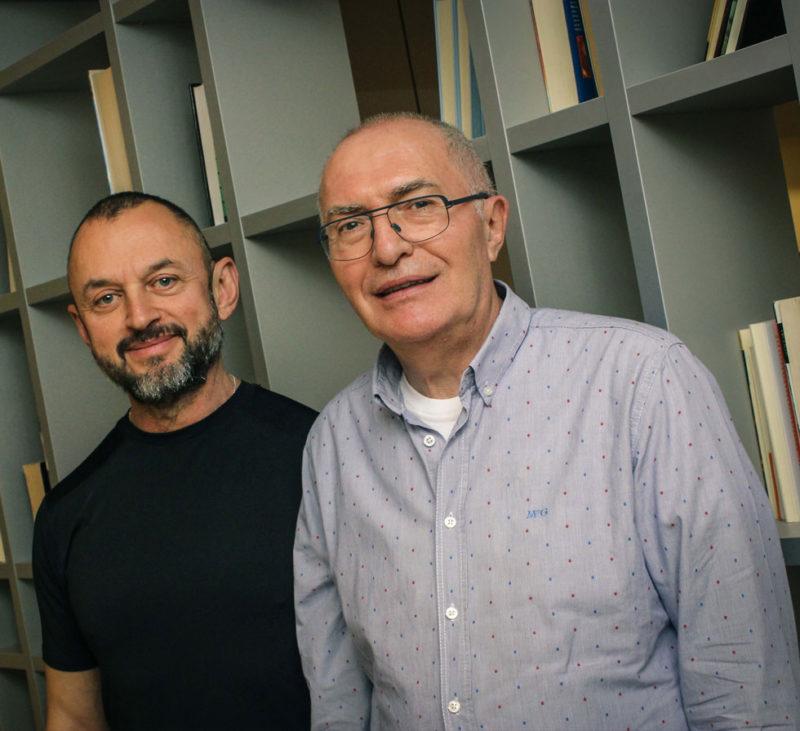 Fernando y Emeterio fundadores de la Fundación Eddy-G