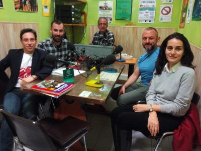 El equipo de la Fundación Eddy-G hablando con Onda Verde sobre la homobofia