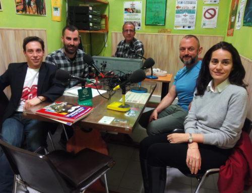 La emisora Onda Verde entrevista a la Fundación Eddy-G