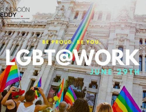El evento LGBT@Work apadrina a la Fundación Eddy-G